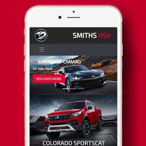 Smiths HSV Website