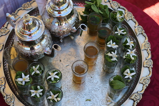 Moroccan Mint Tea -