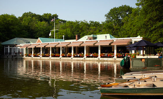 Central park boat house -