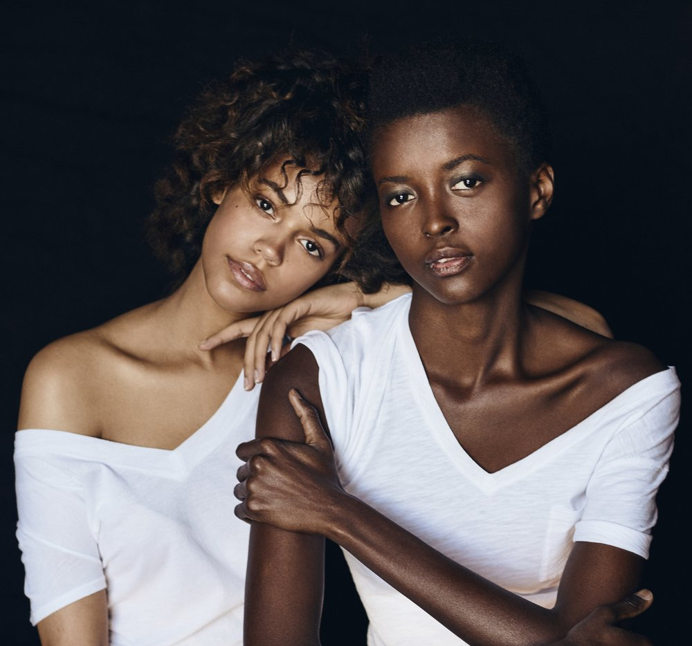Photographer    Jeremy Hall   Hair Stylist    Georgie Calvert   Stylist   Jamar Graham   Models   Amira Pinheiro and Lisa Washington