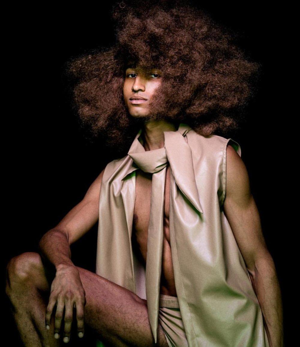 Photographer   Benedict Evans   Hair Stylist   Ben Martin   Stylist   Asamaria Camnert   Model   Robby Peterson