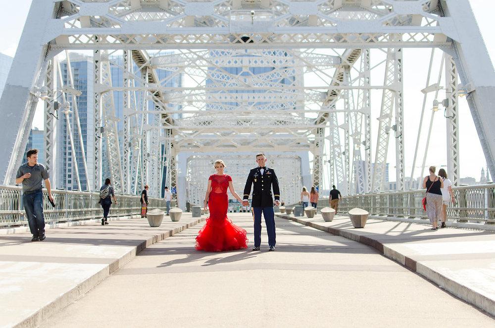 Lauren-Drake-Military-Ball-Pedestrian-Bridge-Nashville-Photographers+1
