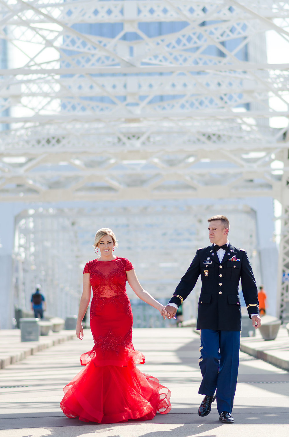 Lauren-Drake-Military-Ball-Pedestrian-Bridge-Nashville-Photographers+2