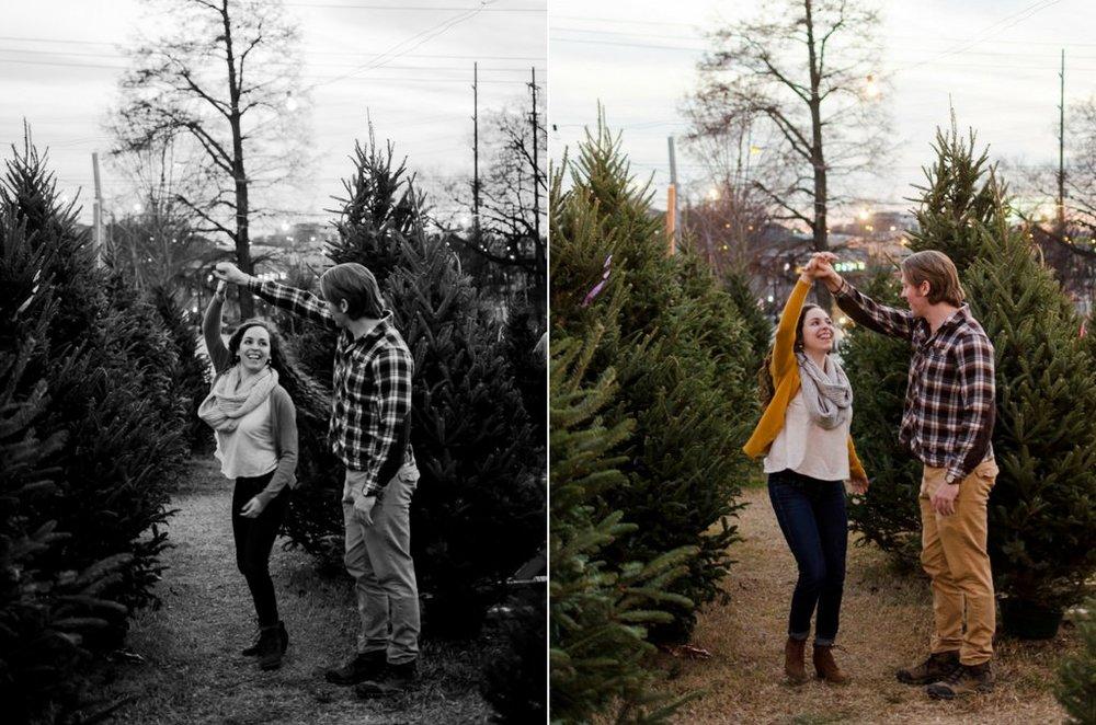 Tom-Hannah-Winter-Christmas-Tree-Farm-Engagement-Session-Nashville-Wedding-Photographers+16