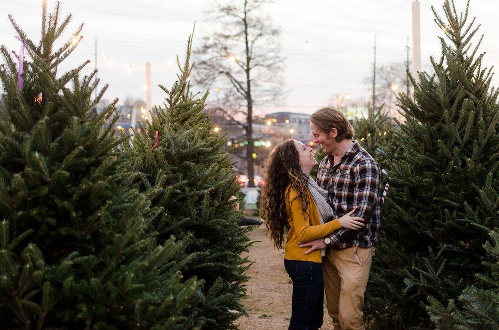 Tom-Hannah-Winter-Christmas-Tree-Farm-Engagement-Session-Nashville-Wedding-Photographers+15