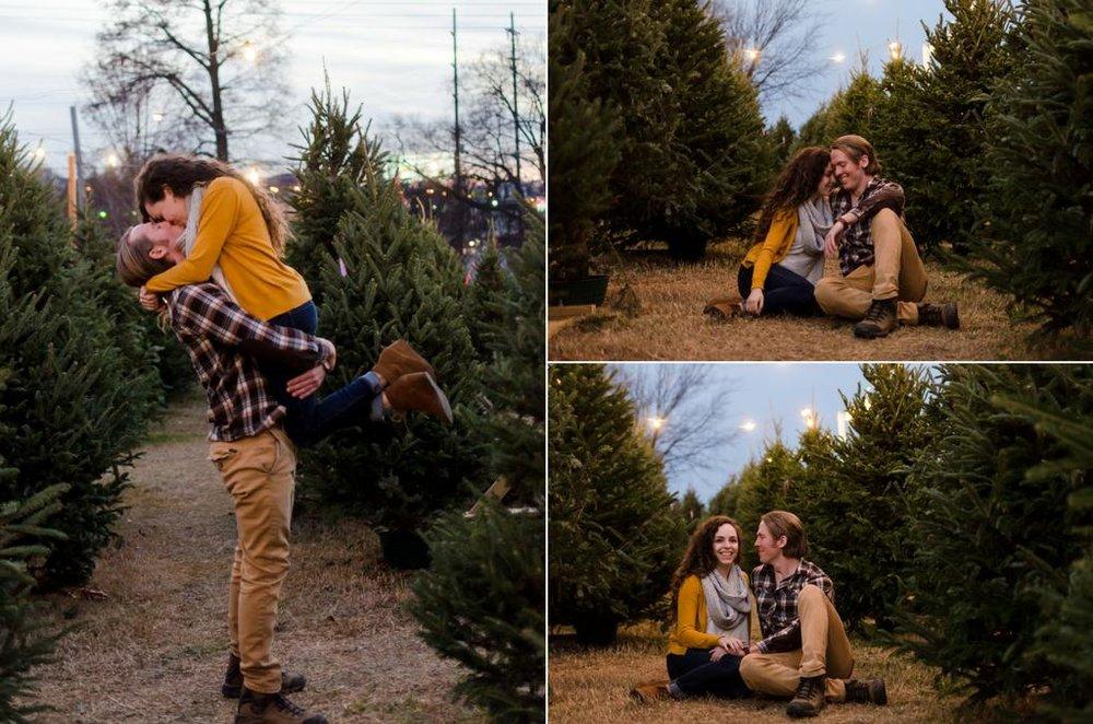 Tom-Hannah-Winter-Christmas-Tree-Farm-Engagement-Session-Nashville-Wedding-Photographers+19