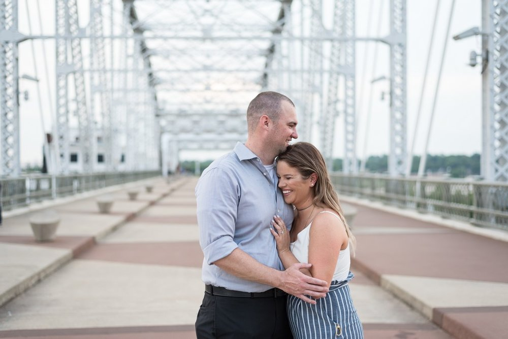 Downtown-Nashville-City-Surprise-Proposal-on-Pedestrian-Bridge-Engagement-Session-Nashville-Wedding-Photographer+8