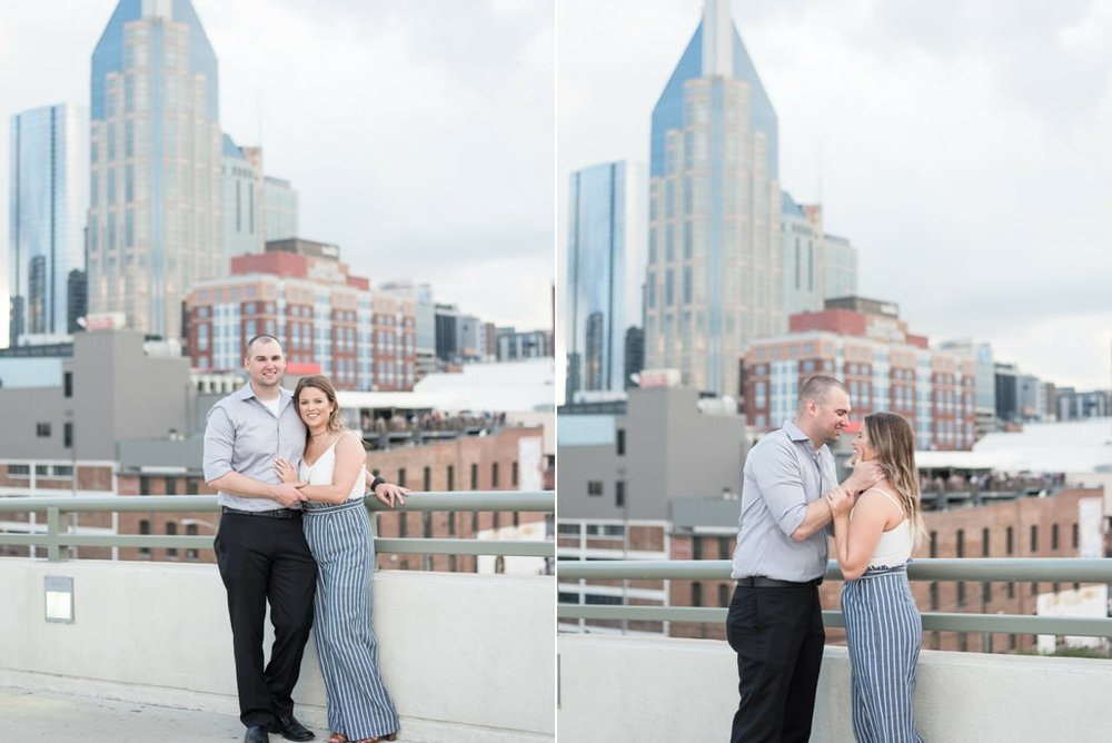 Downtown-Nashville-City-Surprise-Proposal-on-Pedestrian-Bridge-Engagement-Session-Nashville-Wedding-Photographer+11