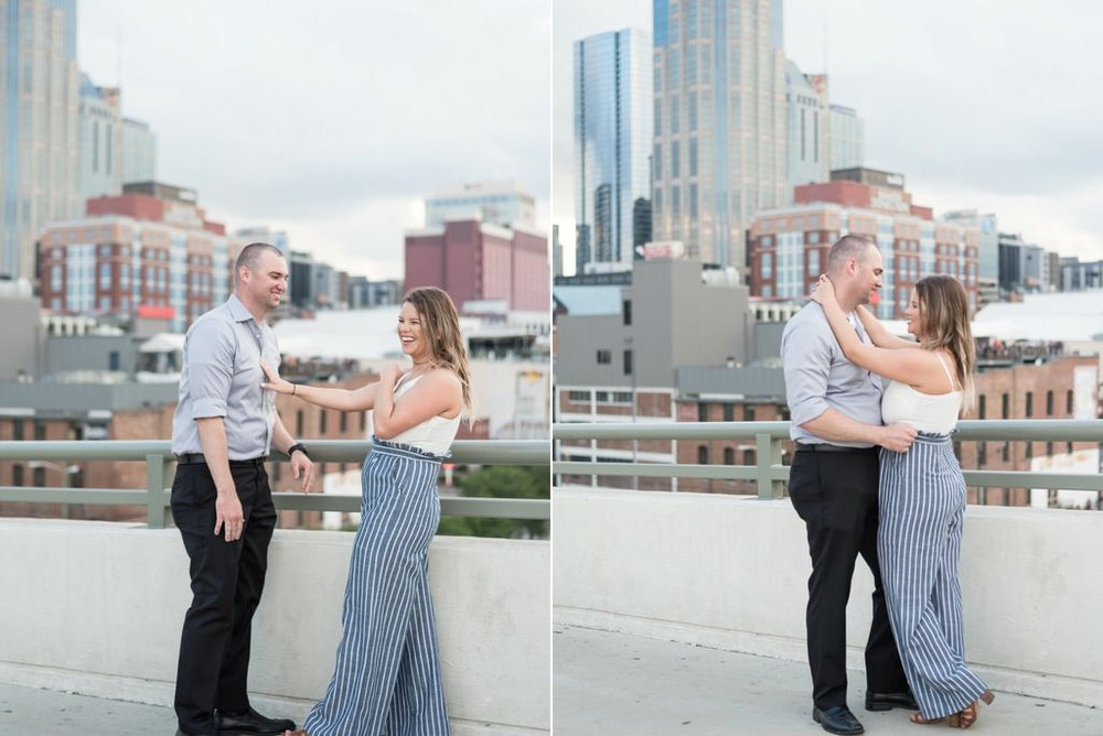 Downtown-Nashville-City-Surprise-Proposal-on-Pedestrian-Bridge-Engagement-Session-Nashville-Wedding-Photographer+12