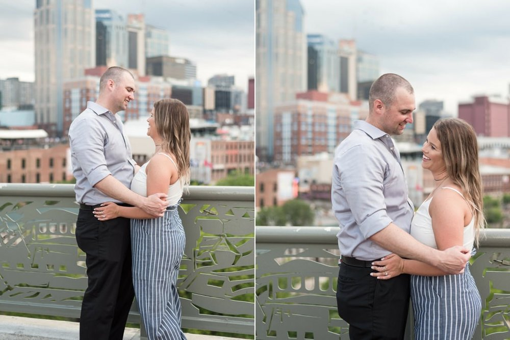 Downtown-Nashville-City-Surprise-Proposal-on-Pedestrian-Bridge-Engagement-Session-Nashville-Wedding-Photographer+14
