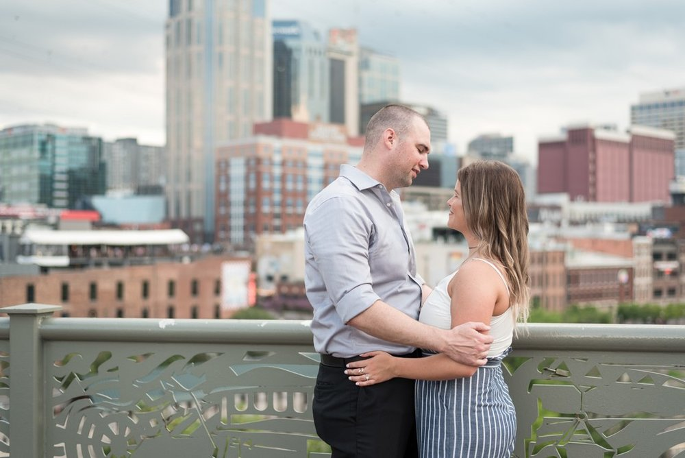 Downtown-Nashville-City-Surprise-Proposal-on-Pedestrian-Bridge-Engagement-Session-Nashville-Wedding-Photographer+15