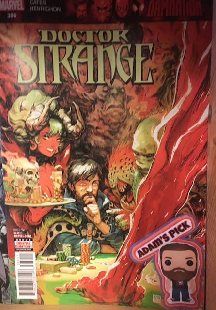 Doctor Strange #386 - Adam's PickWriter: Donny CatesArtist: Niko HenrichonA