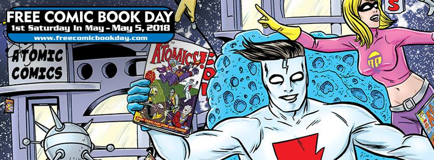 It's the biggest Comics Celebration of the year! It's FREE COMIC BOOK DAY!!!