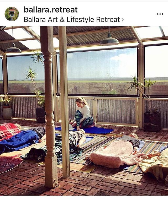 Thanks to @ballara.retreat & @stephballphoto for having me teach Yoga & Relaxation to this great group of Women last weekend- such fun & awesome to be teaching @warooka again! Loved it 💜🙏 If you are looking for a getaway on Yorkes, check this place out! Fantastic community providing a beautiful venue & experiences, specifically tailored for you! . . . . #retreat #happy #fun #community #connection #connectingpeople #greatexperience #yorkes #southernyorkepeninsula #beach #yogafun #relaxation #greatfood #happy #timeforyou #friends