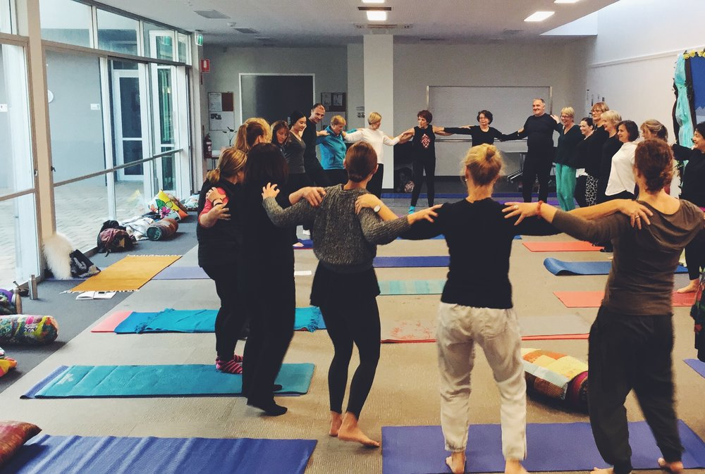~ Our July Winter Workshop in Adelaide ~ Connecting our Community through Yoga & Meditation ~
