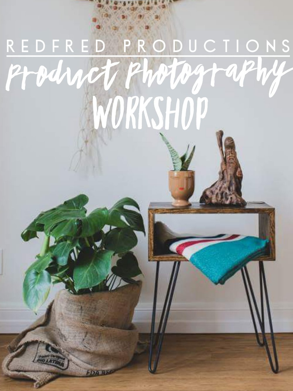 Just cant figure out how to have great product photos? Join us to chat white balance, lighting and styling. -