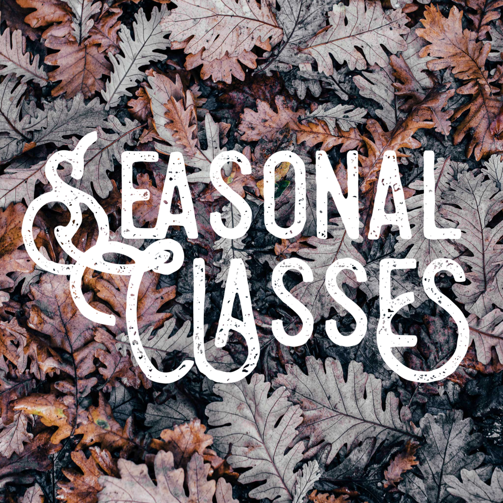 HOLIDAY & SEASONALWORKSHOPS - Come join us for some seasonal fun! Wreath making, Gift making, spooky treats, Ugly sweaters and more!