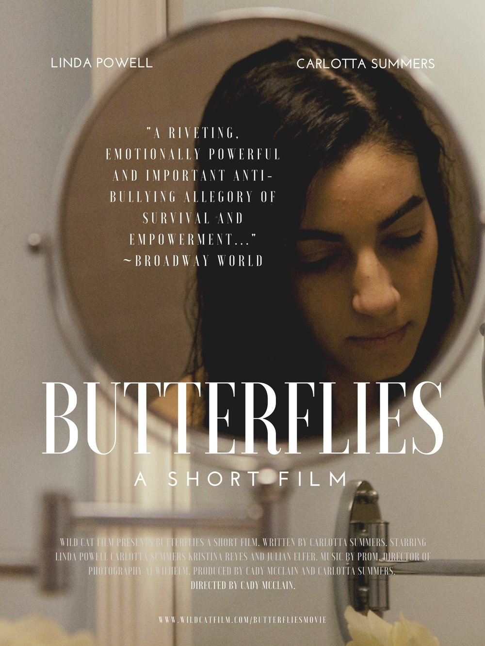 Broadway World Review for Butterflies! -