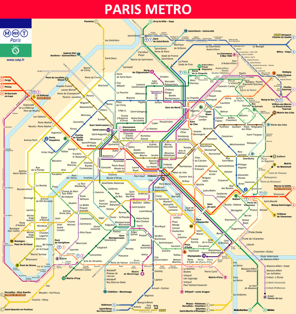 Paris Métro - Wikipedia