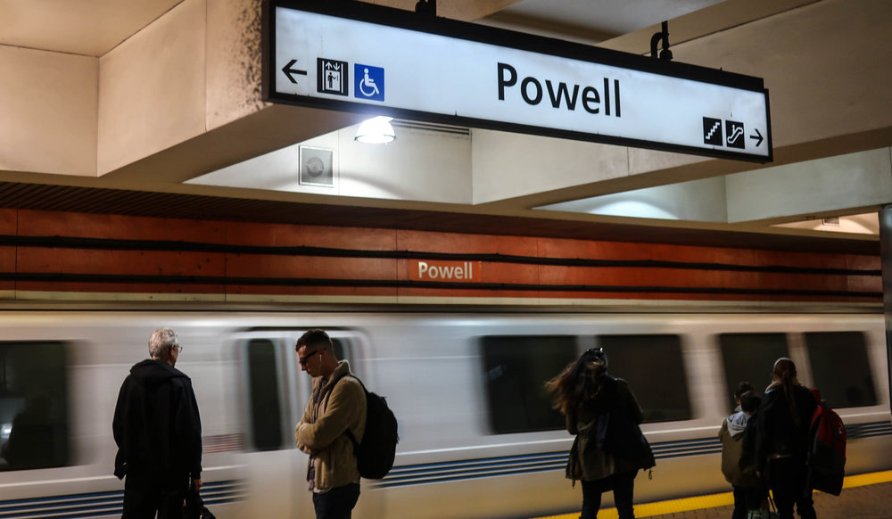 Powell Street Station BART San