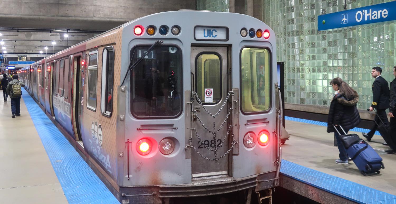 "Chicago O'Hare Airport Train Transfer Guide - ""The L"