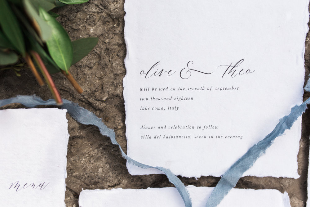 Wedding Invitations & Calligraphy - Ink & Press Co. Photo by Alexis Foust