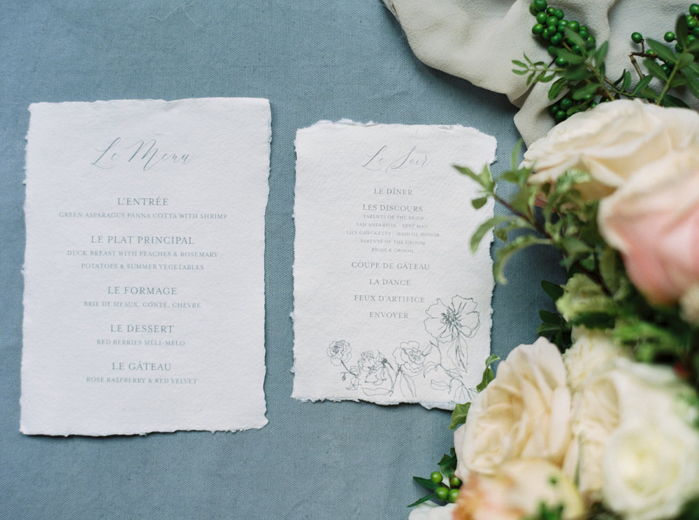 Wedding Invitations & Calligraphy - Ink & Press Co. Photo by Mary Claire Photography