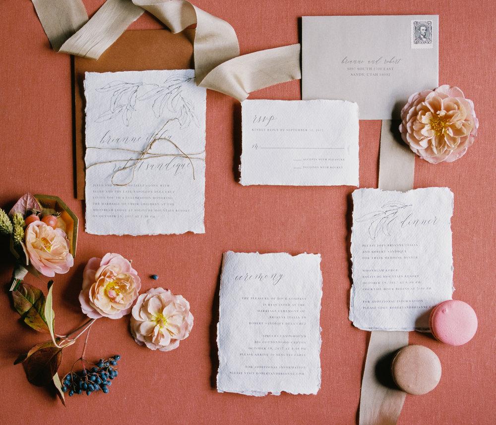 Wedding Invitations & Calligraphy - Ink & Press Co. by Megan Robinson