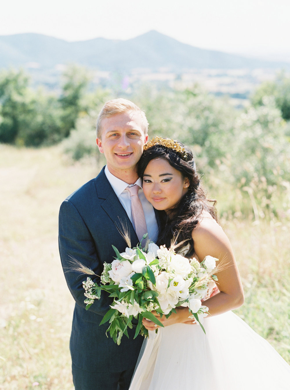 Erin and Michael - Tuscany, Italy (real bride)
