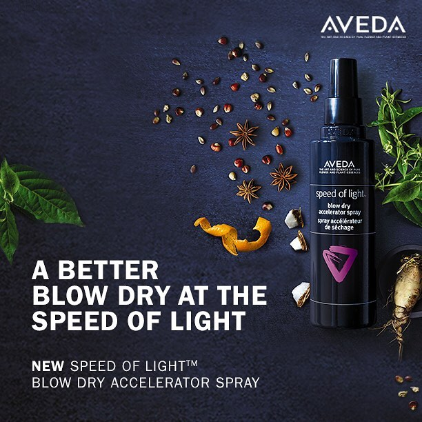90% naturally derived and in salons only!! Style your way to a better blow out😍 Cut Blow dry time and reduce breakage by 93% Get yours today. • • #westendep #aveda #speedoflight #hairproducts #blowdry #eptx #avedaproducts #915hair #hair #westendhairco #avedasalonandspa #915hairstylist #loveyourhair #treatyoself #avedahair #avedalove