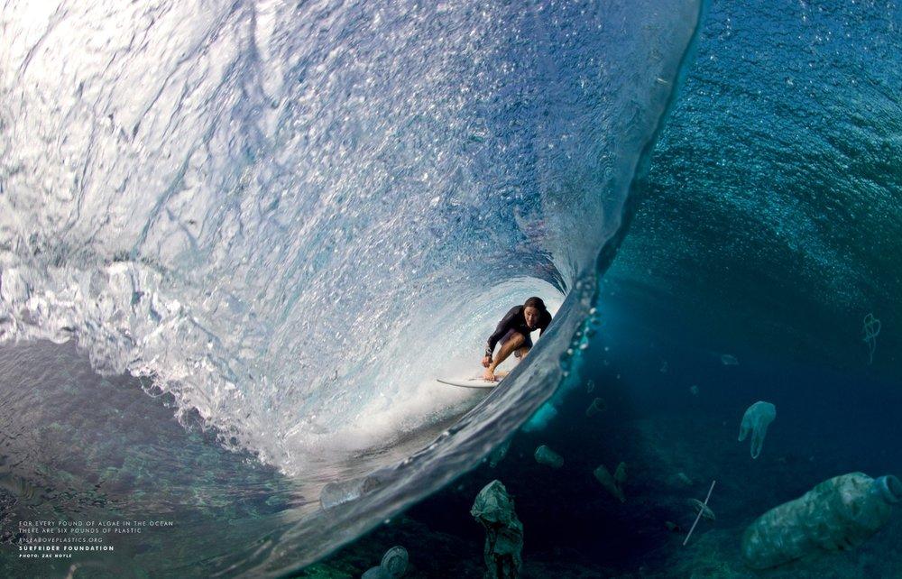 Surfing Plastic