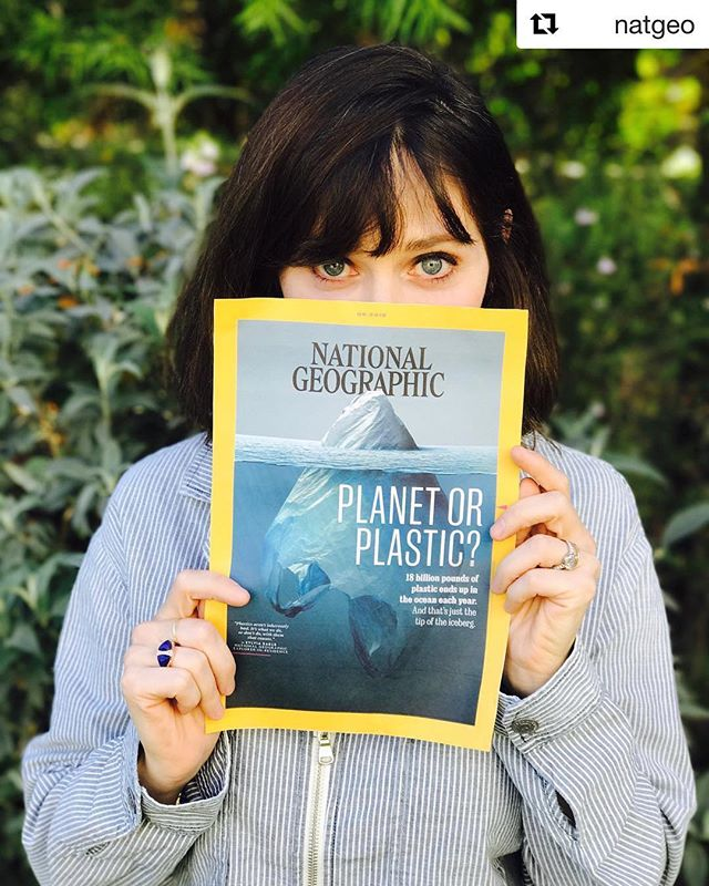 National Geographic launched a massive awareness around our current plastic problem! Check out their page and keep educating yourself on our current plastic crisis! We can make the changes! 💙🙏🏻 #savewater #drinkair #noplastic #planetorplastic . . #Repost @natgeo & @zooeydeschanel ・・・ Hey! I'm @zooeydeschanel and on behalf of @farmproject, I'll be guest curating the @natgeo Instagram feed throughout the day to help launch #PlanetorPlastic—National Geographic's multiyear effort to raise awareness about the global plastic waste that gets into the world's oceans. Learn what you can do to reduce your own single-use plastics and take your pledge at natgeo.com/plasticpledge (link in bio). Doing so will not only benefit the thousands of marine animals that become entangled in or suffocated by plastics each year but will also contribute to the overall health of the planet's marine ecosystems and all who rely upon them. Check the feed throughout the day to see more of the amazing pictures I'm posting.