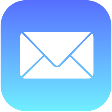 Use Apple Mail which is pre-installed on all iOS devices.