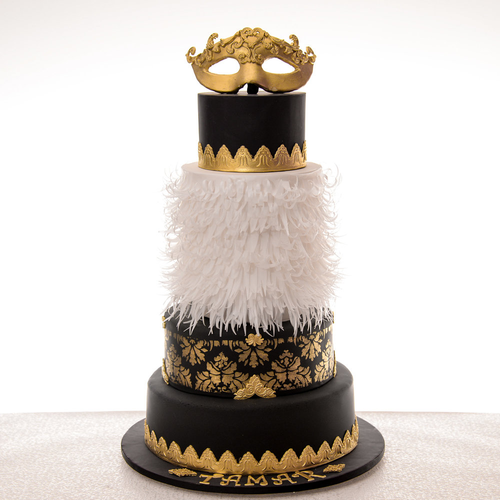 Gold-Black-and-White-Masquerade-Birthday-Cake.jpg