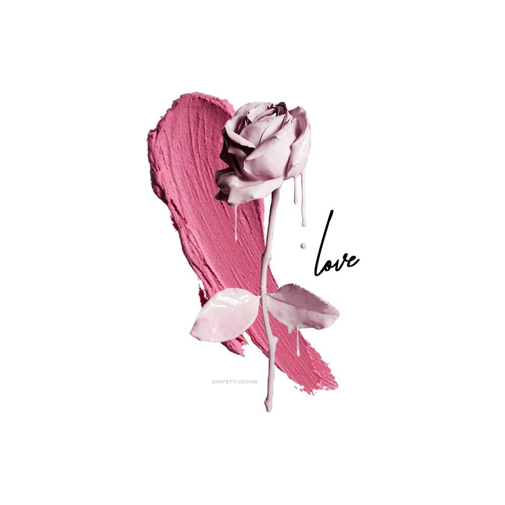 Rose by Josh Caudwell, Design by Konfetti.