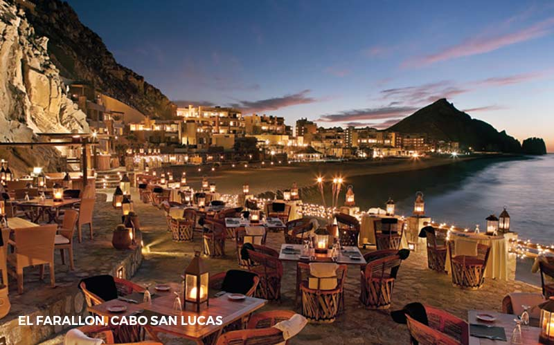 - Cabo San LucasWhale WatchingGolf CoursesSport Fishing/Fishing ChartersParasailingNight LifeMovie TheatersShopping and Restaurants
