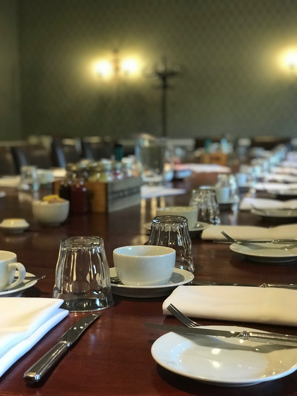 Brunch meeting at the Hotel du Vin Winchester