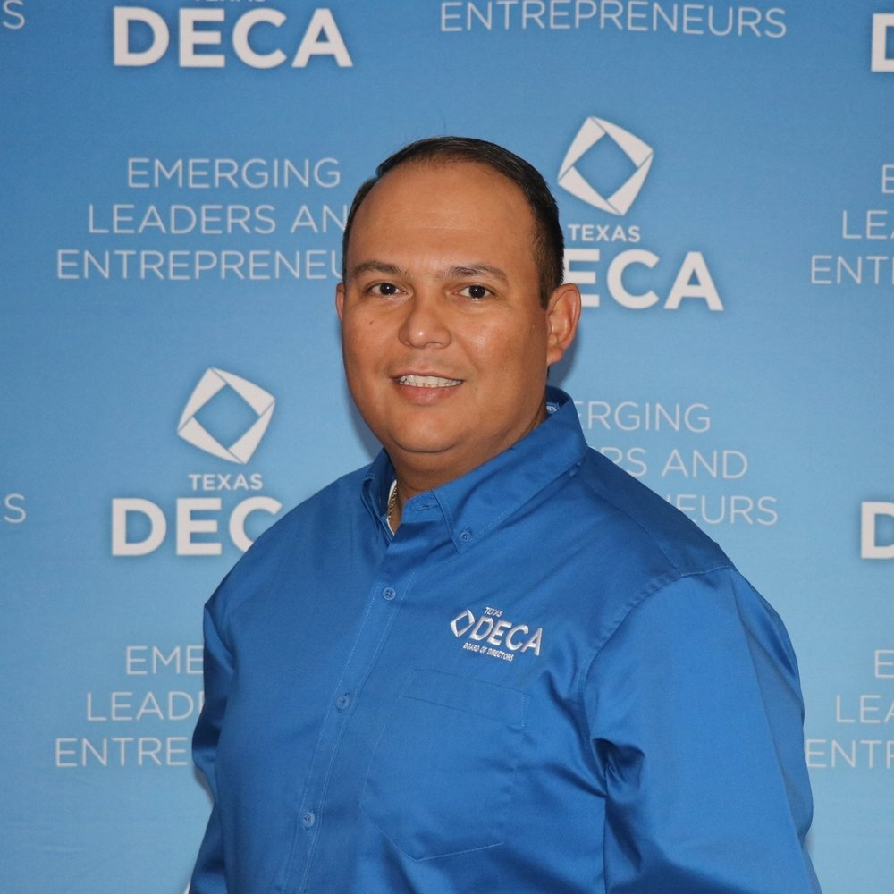 District 1 Leo Saenz La Villa High School P.O. Box 1798 Edinburg, TX 78540 956-533-2463 dist1deca@gmail.com 2017-2018 Board Chair