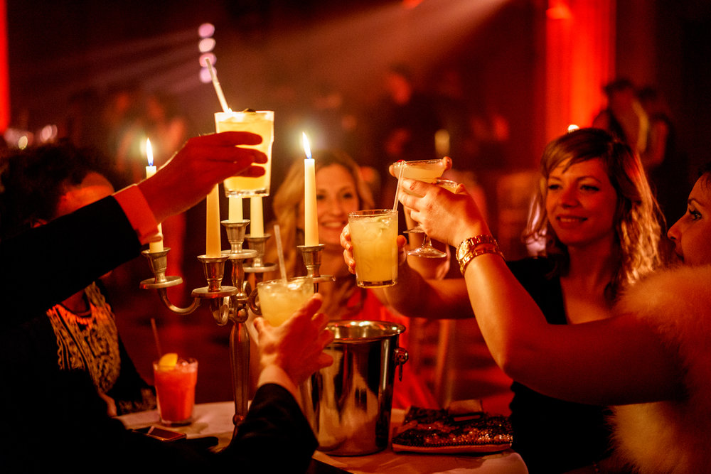 exclusive parties -