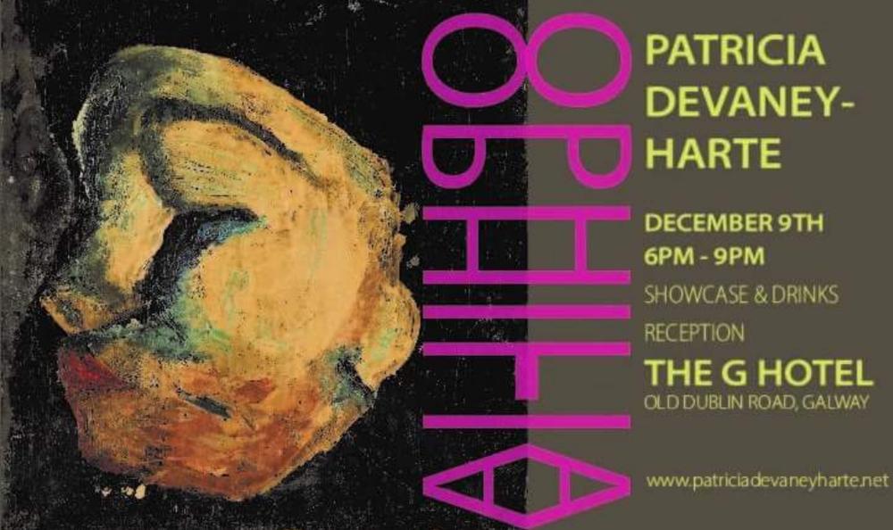 Ophilia art exhibition, galway, irish artist