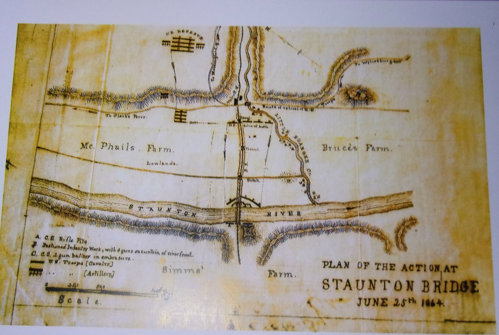 PRINT Plan of the Action at Staunton Bridge.jpg
