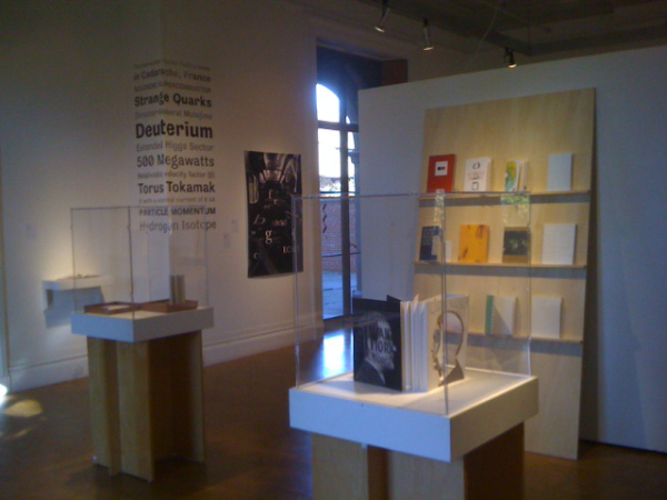 A view of the RISD Graphic Design Triennial 2010–2012