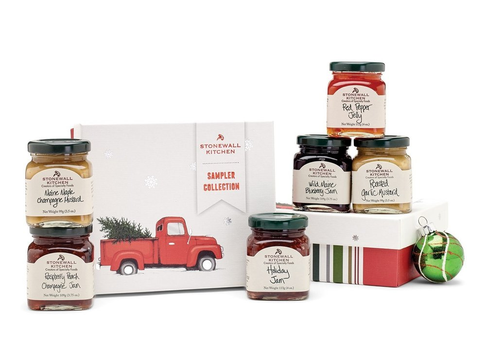 STONEWALL KITCHEN HOLIDAY SAMPLER GIFT SET