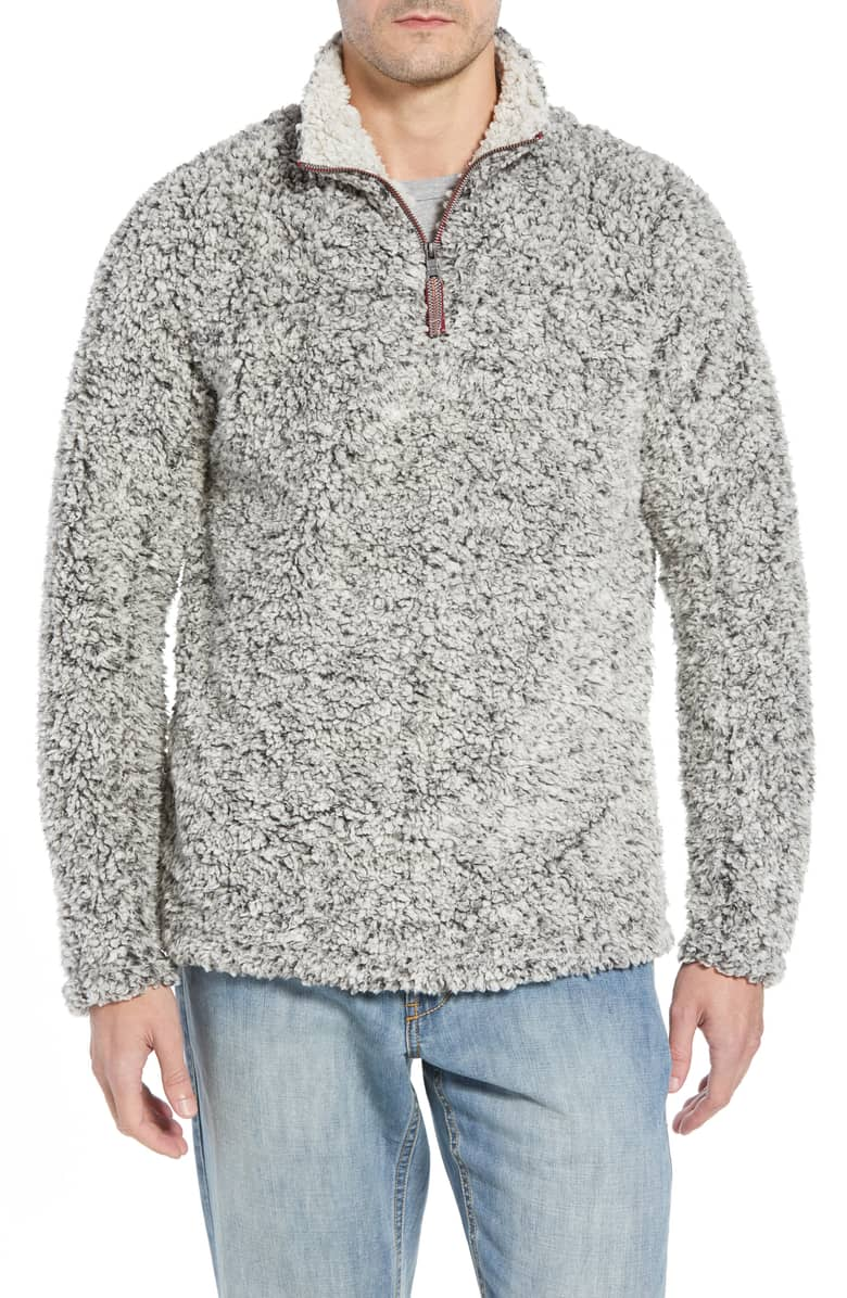 Frosty Zip Pullover