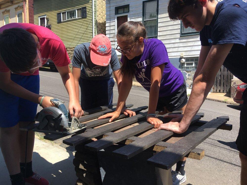 custom trips & volunteer craftsmen -