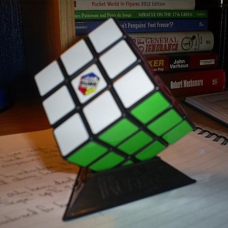 #27: solve a rubik's cube -