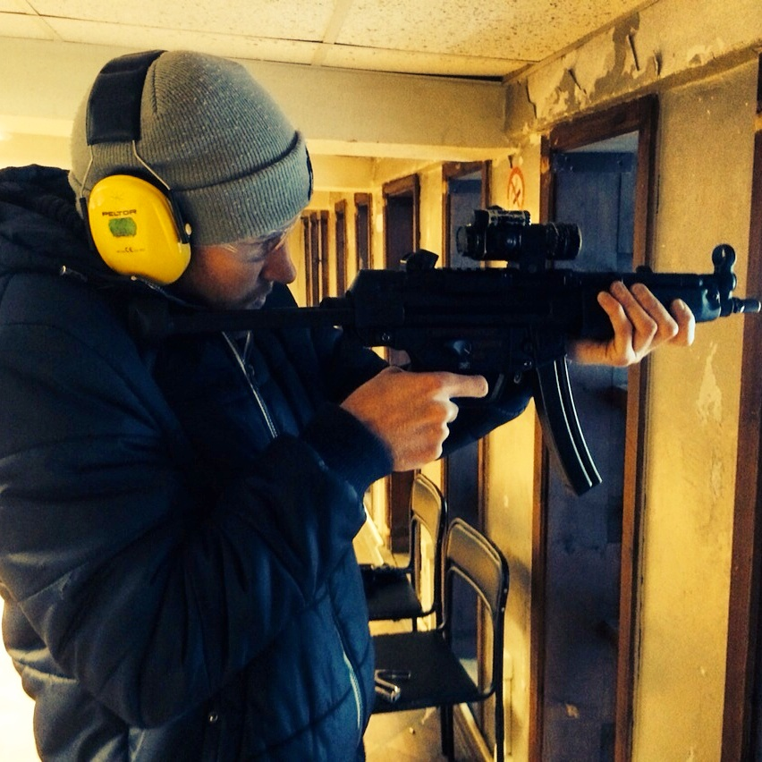 #94: fire guns at a rifle range -