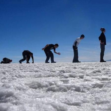 #134: bolivian salt flats -