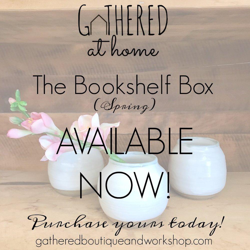 The Bookshelf Box - Spring 2019