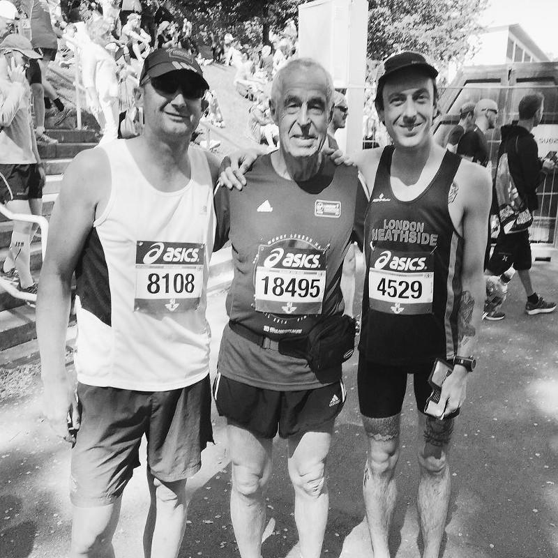 Post-Stockholm Marathon, June 2016